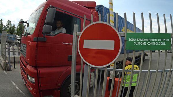 Проблема поставки грузов в Россию решена - Sputnik Азербайджан