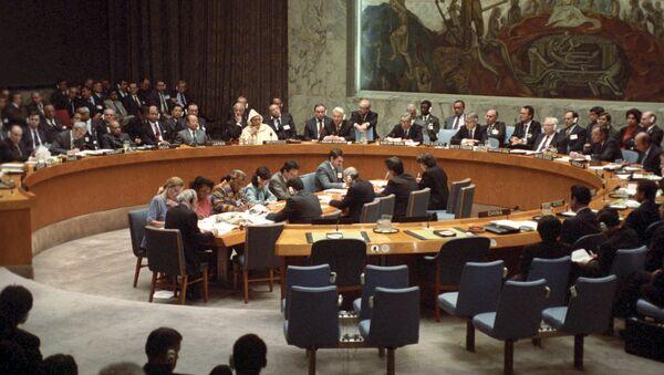 Сессия Генеральной Ассамблеи ООН - Sputnik Azərbaycan