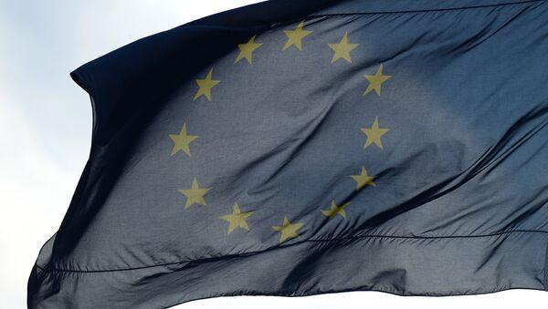 Флаги Евросоюза в Берлине - Sputnik Азербайджан