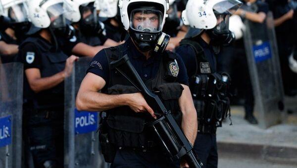 Полиция Турции - Sputnik Азербайджан