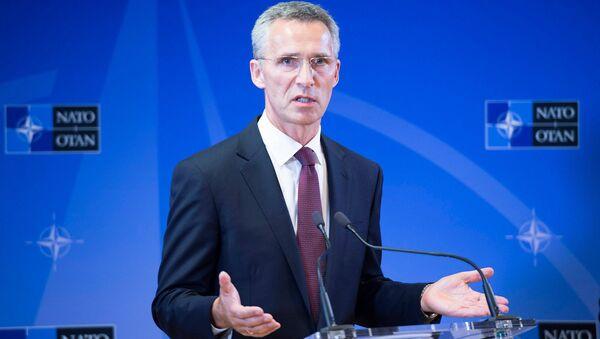 NATO-nun baş katibi Jens Stoltenberq - Sputnik Azərbaycan