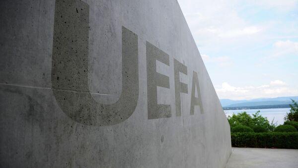 UEFA-nın loqotipi. arxiv şəkli - Sputnik Azərbaycan
