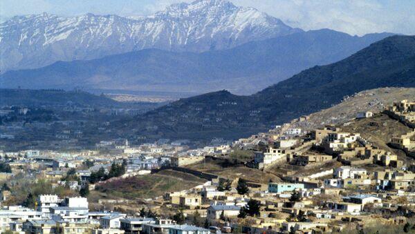 Вид города Кабул - Sputnik Azərbaycan