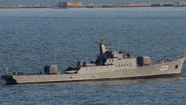 Военный корабль - Sputnik Азербайджан