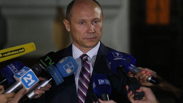 Премьер-министр Молдавии Валерий Стрелец - Sputnik Азербайджан