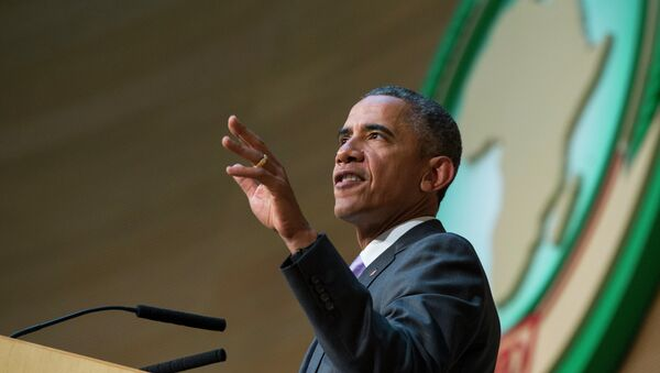 Barak Obama - ABŞ prezidenti - Sputnik Azərbaycan