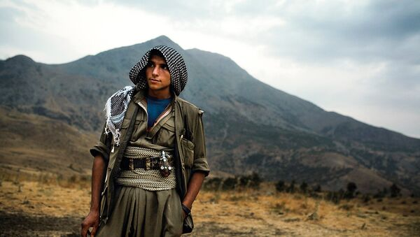 PKK yaraqlısı - Sputnik Azərbaycan