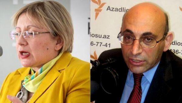 Лейла и Ариф Юнус - Sputnik Азербайджан