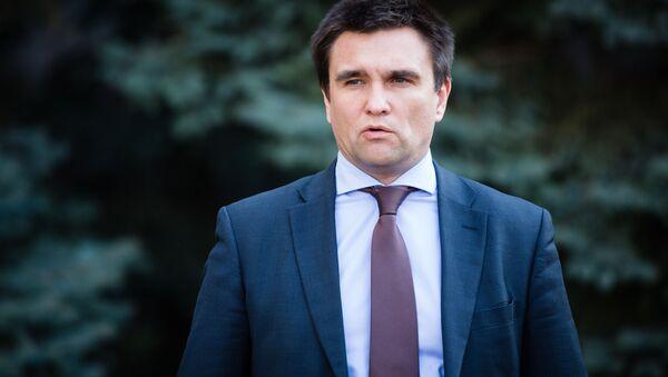 Глава МИД Украины Павел Климкин - Sputnik Азербайджан