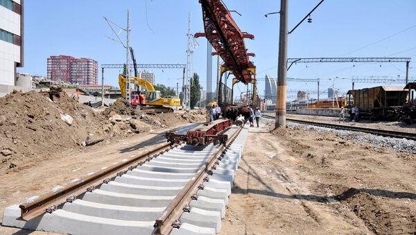 ЗАО Азербайджанские железные дороги - Sputnik Азербайджан