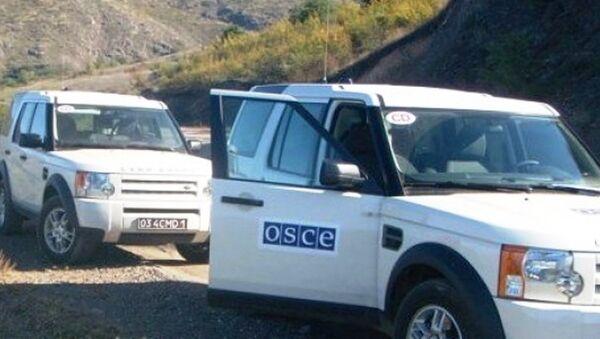 мониторинг ОБСЕ - Sputnik Азербайджан