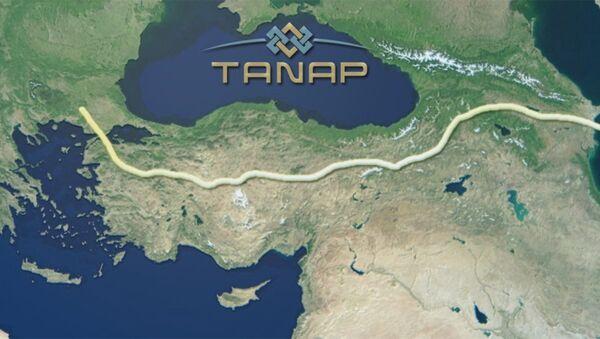 TANAP - Sputnik Azərbaycan