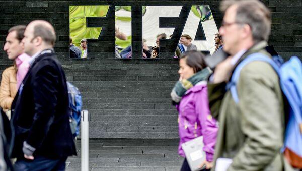Логотип FIFA, фото из архива - Sputnik Азербайджан