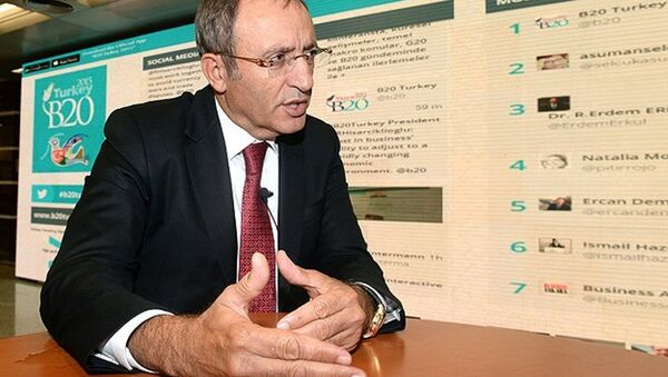 Глава компании SOCAR Turkey Enerji Кенан Явуз - Sputnik Азербайджан