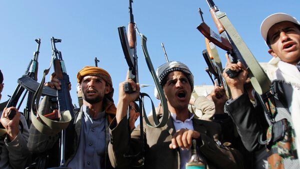 Акция протеста в Йемене - Sputnik Азербайджан