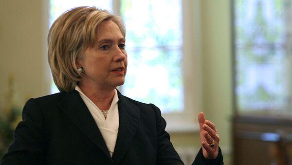 U.S. Secretary of State Hilary Clinton - Sputnik Азербайджан
