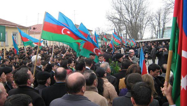 mitinq - Sputnik Azərbaycan