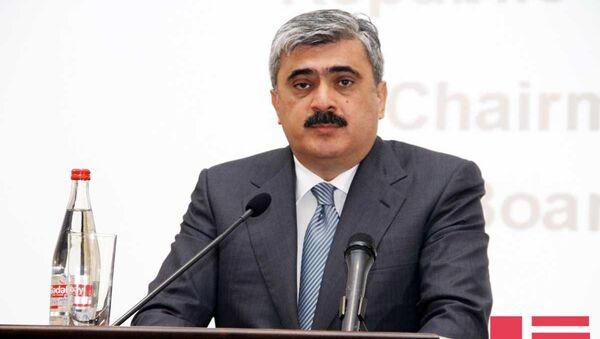 Министр финансов Самир Шарифов. Архивное фото - Sputnik Азербайджан