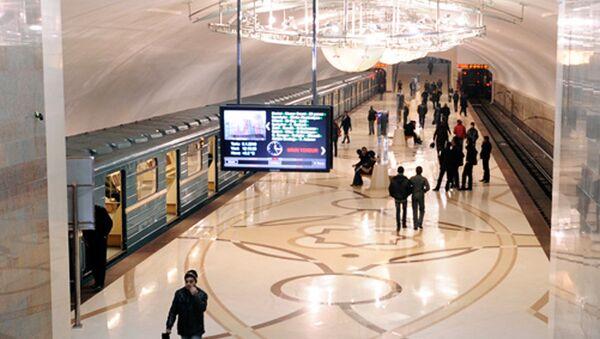 Bakı metrosu - Azadlıq prospekti stansiyası - Sputnik Azərbaycan