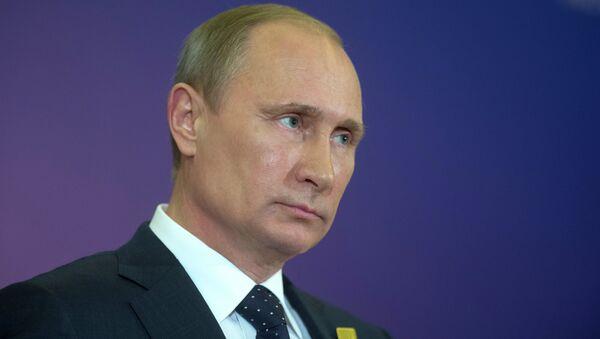 Russian President Vladimir Putin - Sputnik Азербайджан