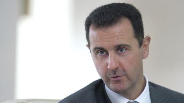 Президент Сирии Башар Асад - Sputnik Азербайджан