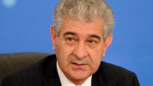 Вице-премьер правительства Азербайджана Али Ахмедов - Sputnik Азербайджан