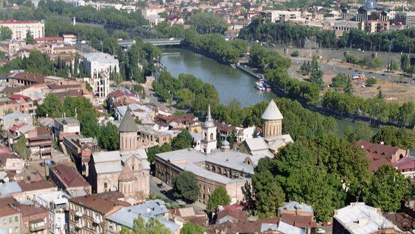 Панорама Тбилиси - Sputnik Азербайджан