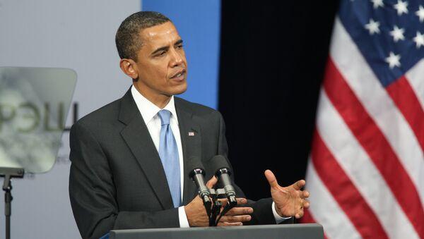 Выступление президента США Барака Обама перед выпускниками Российской экономической школы (РЭШ) - Sputnik Азербайджан
