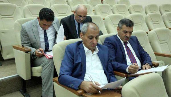 Əliməmməd Nuriyev, Əhməd Abbasbəyli - Sputnik Azərbaycan