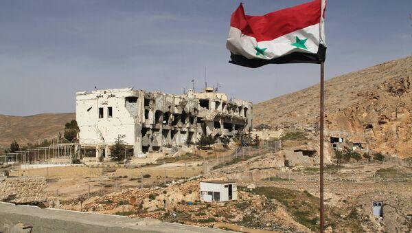 Ситуация в сирийском городе Маалюля - Sputnik Азербайджан