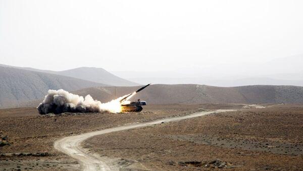 Испытательные боевые стрельбы ПВО Азербайджана - Sputnik Азербайджан