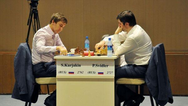 Финал Кубка мира по шахматам в Баку - Sputnik Азербайджан
