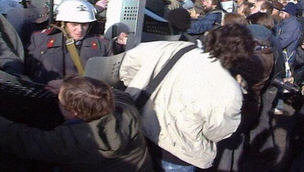 Как Россия избежала гражданской войны. Съемки 1993 года - Sputnik Азербайджан