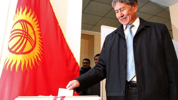 Выборы президента Киргизии - Sputnik Азербайджан