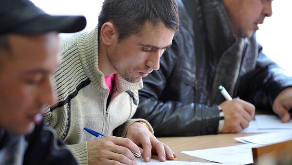 Центр тестирования трудовых мигрантов в Ростове-на-Дону - Sputnik Азербайджан