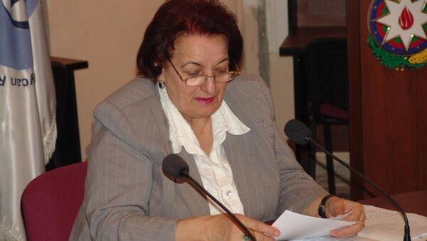 Elmira Süleymanova - İnsan Hüquqları üzrə müvəkkil (Ombudsman ) - Sputnik Azərbaycan