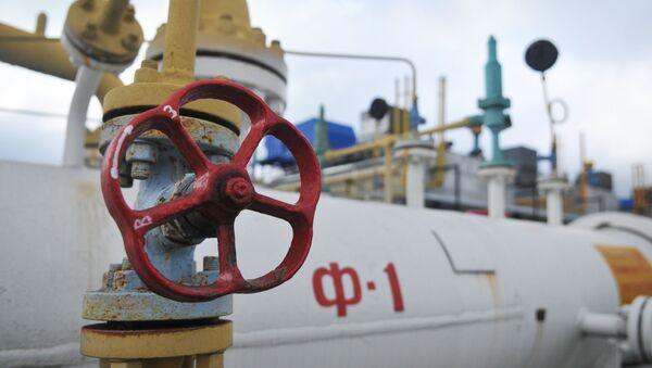 Высокогорная газокомпрессорная станция Воловец в Закарпатской области - Sputnik Азербайджан