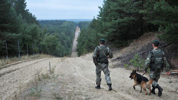 Военнослужащие отдела пограничной службы - Sputnik Азербайджан