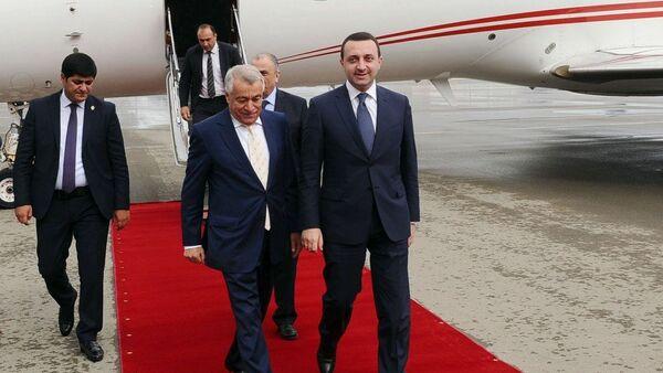Премьер-министр Грузии Ираклий Гарибашвили прибыл с визитом в Азербайджан - Sputnik Азербайджан