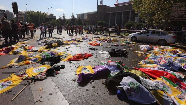 Ankarada terror - Sputnik Azərbaycan