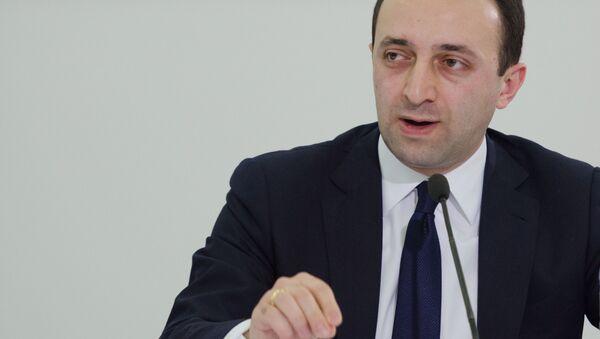 Пресс-конференция главы грузинского МВД Ираклия Гарибашвили - Sputnik Азербайджан