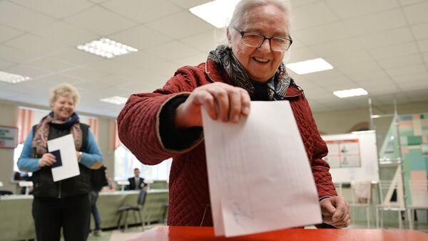 Выборы президента Белоруссии - Sputnik Азербайджан