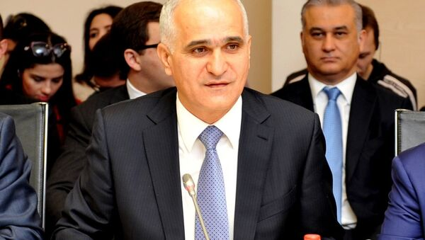 Министр экономики и промышленности Азербайджана Шахин Мустафаев - Sputnik Азербайджан
