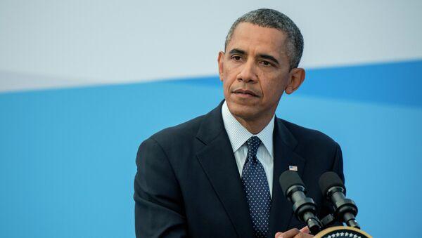 U.S. President Barack Obama - Sputnik Azərbaycan