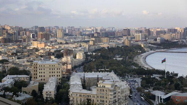 A view of Baku - Sputnik Azərbaycan