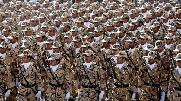İran ordusu - Sputnik Azərbaycan
