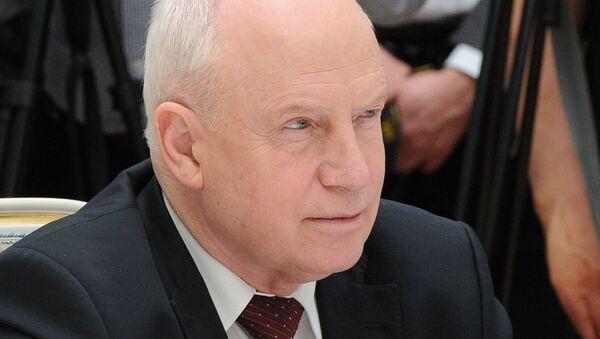 Председатель Исполнительного комитета – исполнительный секретарь СНГ Сергей Лебедев - Sputnik Азербайджан