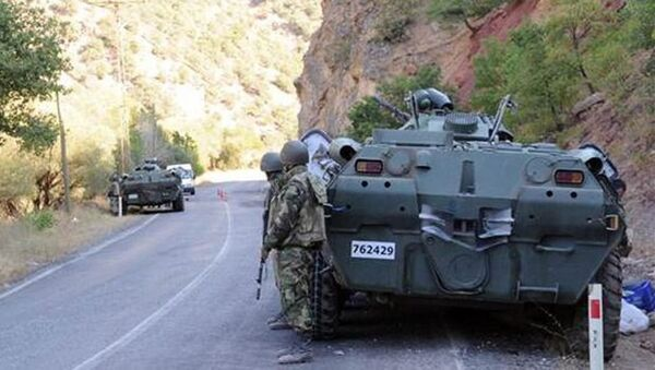 Турецкая армия в поисках террористов РПК - Sputnik Азербайджан