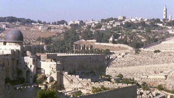 Вид на город Иерусалим - Sputnik Азербайджан