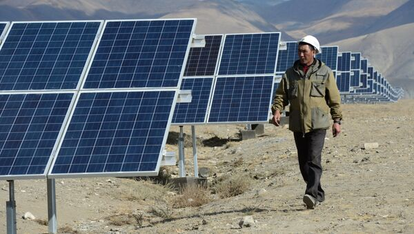 Кош-Агачская солнечная электростанция - Sputnik Азербайджан